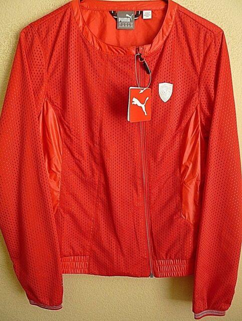 55a02105eb57 PUMA Ferrari Womens Red Lighweight Jacket. Size Medium. for sale ...