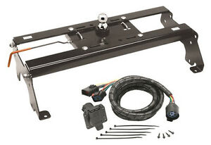 gooseneck hitch wiring harness draw-tite hide-a-goose gooseneck hitch w/ 7' wiring ...
