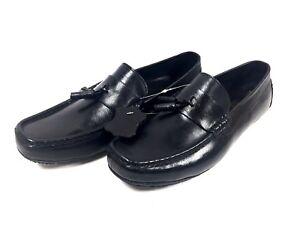 Chaussures-Mocassins-Homme-Cuir-noir-Marco-Bocelli