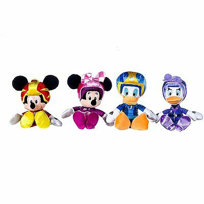 Disney Mickey and The Roadster Racers 12 inch Plush Soft Toys