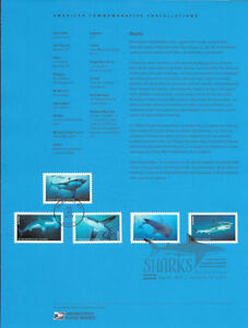 1728-49c-Forever-Sharks-5223-5227-Souvenir-Page