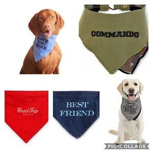 Road Trippin Snap on dog bandana