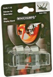 Minichamps-312-100010-WIDE-bike-stands-1-12th-Minichamp-MotoGP-bikes-Pack-of-2