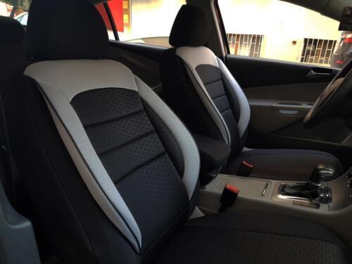 Sitzbezüge Schonbezüge für KIA Cee/'D schwarz-grau V1101588 Vordersitze