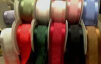 Moire 2 Japan Ribbon Satin Edge Moire Reversible 1yd Pleating Bows Sash