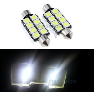 Details about 2Pcs Interior Dome Lights LED Bulbs White For Peterbilt 2006+  379 389 388 386