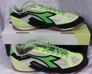 e93a4aa46f4ef Diadora Quinto R ID Soccer Turf Shoes - Men Size 10 - Yellow Green ...