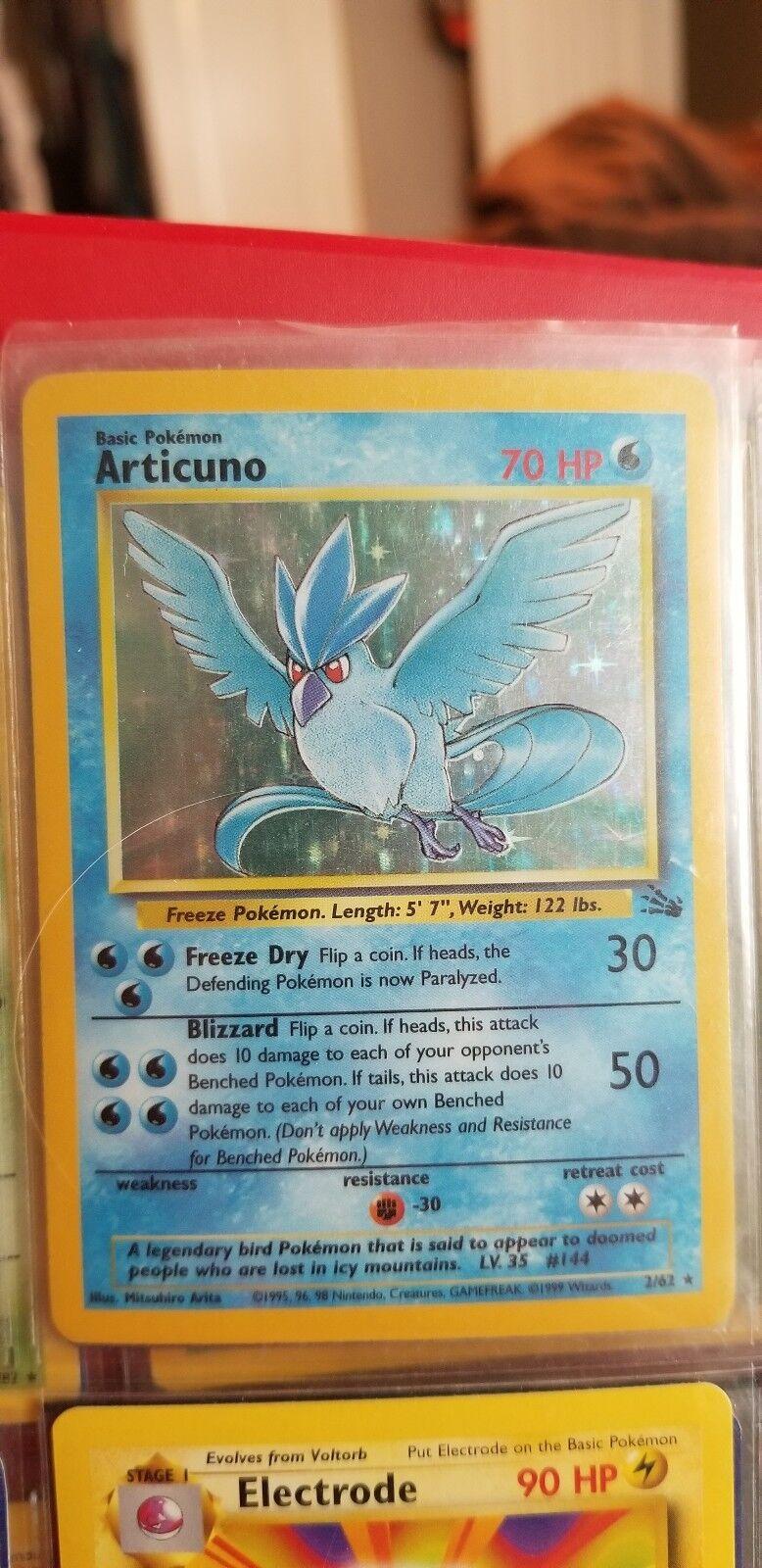 Original Legendary Bird Set With Articuno Holo, Moltres, Moltres, Moltres, and Zapdos 42efc0