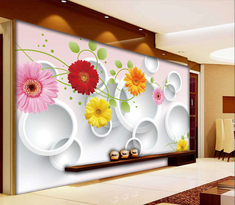 Brilliant Pattern 3D Full Wall Mural Photo Wallpaper Printing Home Kids Decor