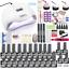 Nail-set-120W-UV-LED-LAMP-for-Manicure-Gel-nail-polish-Set-Kit-Gel-Varnish-Elect thumbnail 1