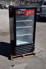 IMBERA 10 CFT COMMERCIAL REFRIGERATOR SINGLE GLASS DOOR DISPLAY VR10 Coke LED