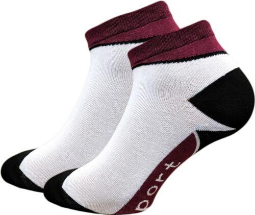 35-42 12 PAAR Sneaker Socken Damen Sport Freizeit Kurzsocken Füßlinge Sneakers