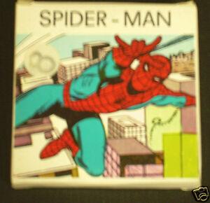 Uomo ragno filmino super numerato fine anni con i primi