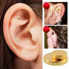 Quit Smoking Stop Smoke Auricular Ear Magnet Therapy Weight Loss Acupressure