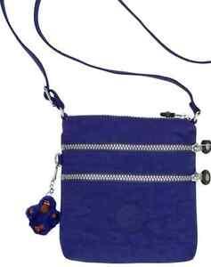 NWT Kipling Alvar XS Crossbody Mini Crossbody Bag - Flash Blue