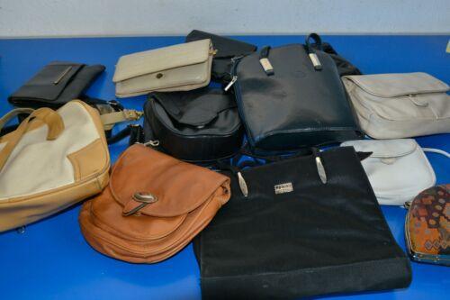 starke Gebrauchsspuren 1 Posten alte Handtaschen ungreinigt teilw