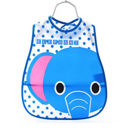 Newborn Toddler Infant Baby Boys Girl Kids Bibs Waterproof Saliva Cartoon Towel