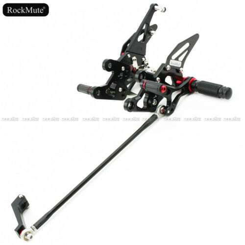 Racing Rearset Footrest Footpeg Pedal For Yamaha FZ-8 2010-2013