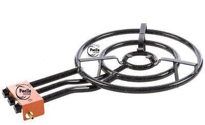 40cm auténtico paella pan dos anillos quemador de gas para Paella Pan 28cm a 55cm