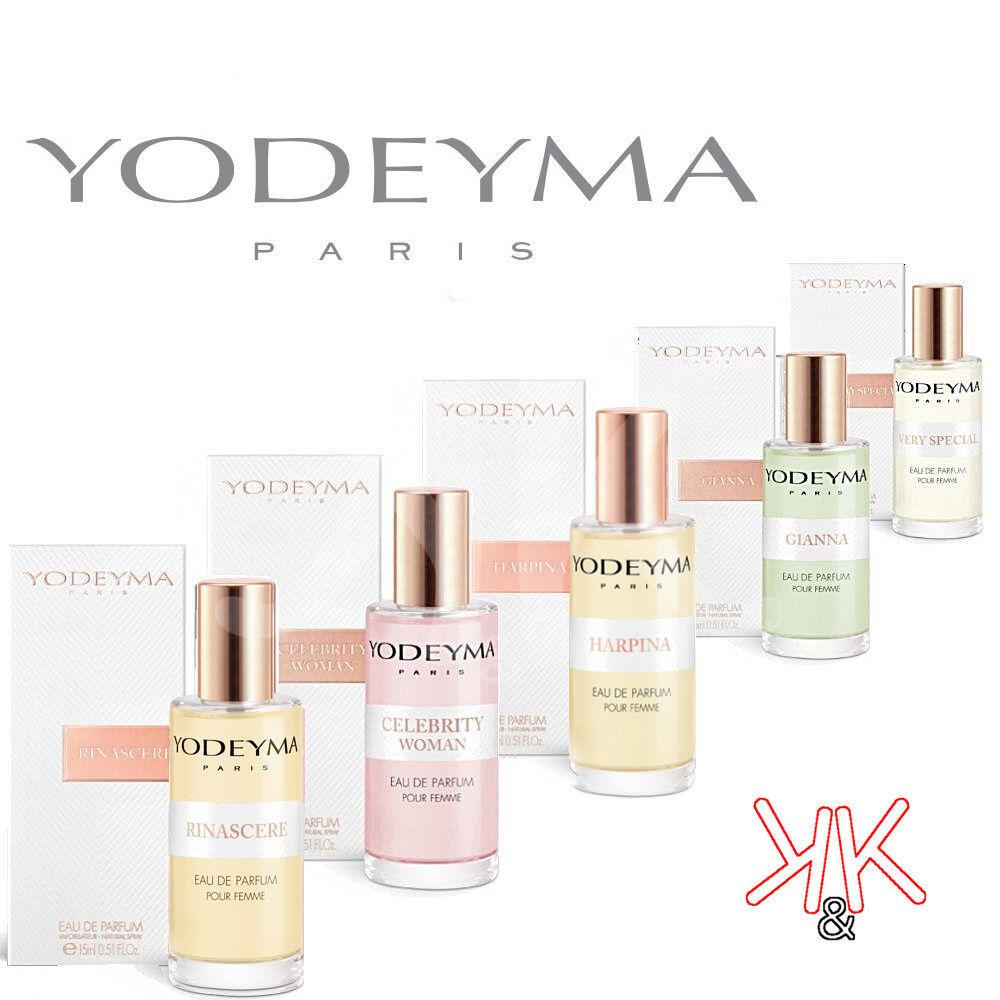 profumi: Profumi Donna originali Yodeyma corrispondenze da 15 ml Edp Spray confezionati