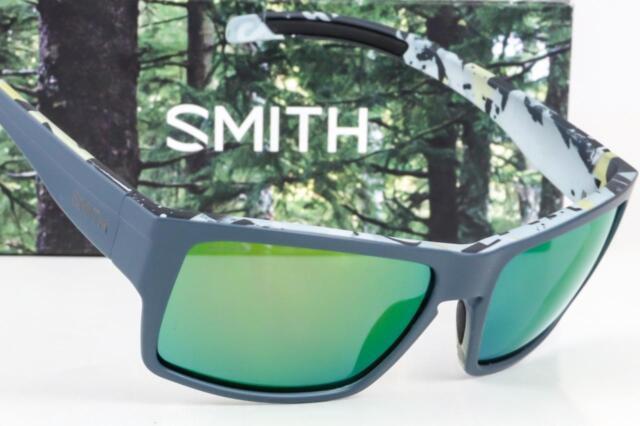 c1a0084174 NEW SMITH OUTLIER XL CHROMAPOP SUNGLASSES Matte Gray Corsair   Green Mirror  lens