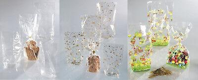 Energisch Zellglasbeutel Cellophanbeutel Kekstüten Beutel Flachbeutel Tüte Stollenschlauch Aromatischer Charakter Und Angenehmer Geschmack