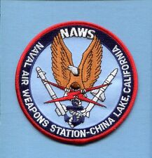 NAWS NAVAL AIR WEAPONS STATION CHINA LAKE US Navy Base Squadron jacket Patch 4.5