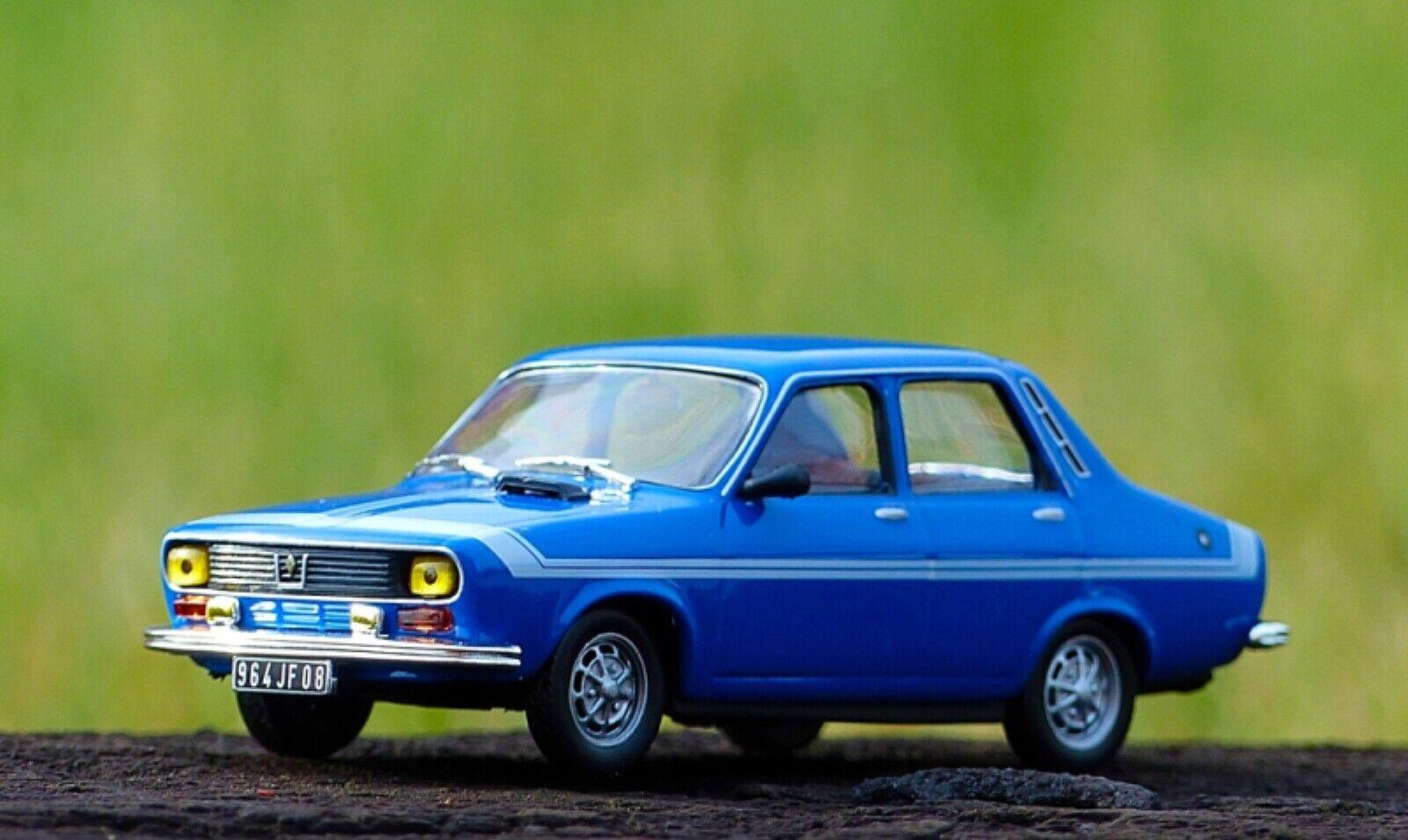 RENAULT 12 GORDINI 1972 1972 1972 1 43 IXO ALTAYA DIE CAST MODELS R12 blue blueE blue 980d36
