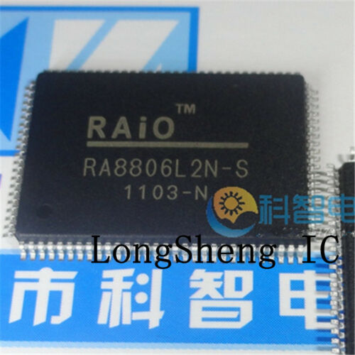 1pcs RA8806L2N-S RA8806 RA8806L2N QFP-100 new