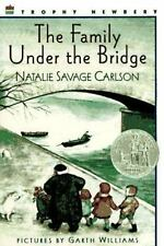 A Trophy Bk.: Family under the Bridge by Natalie Savage Carlson (1989, Paperback)