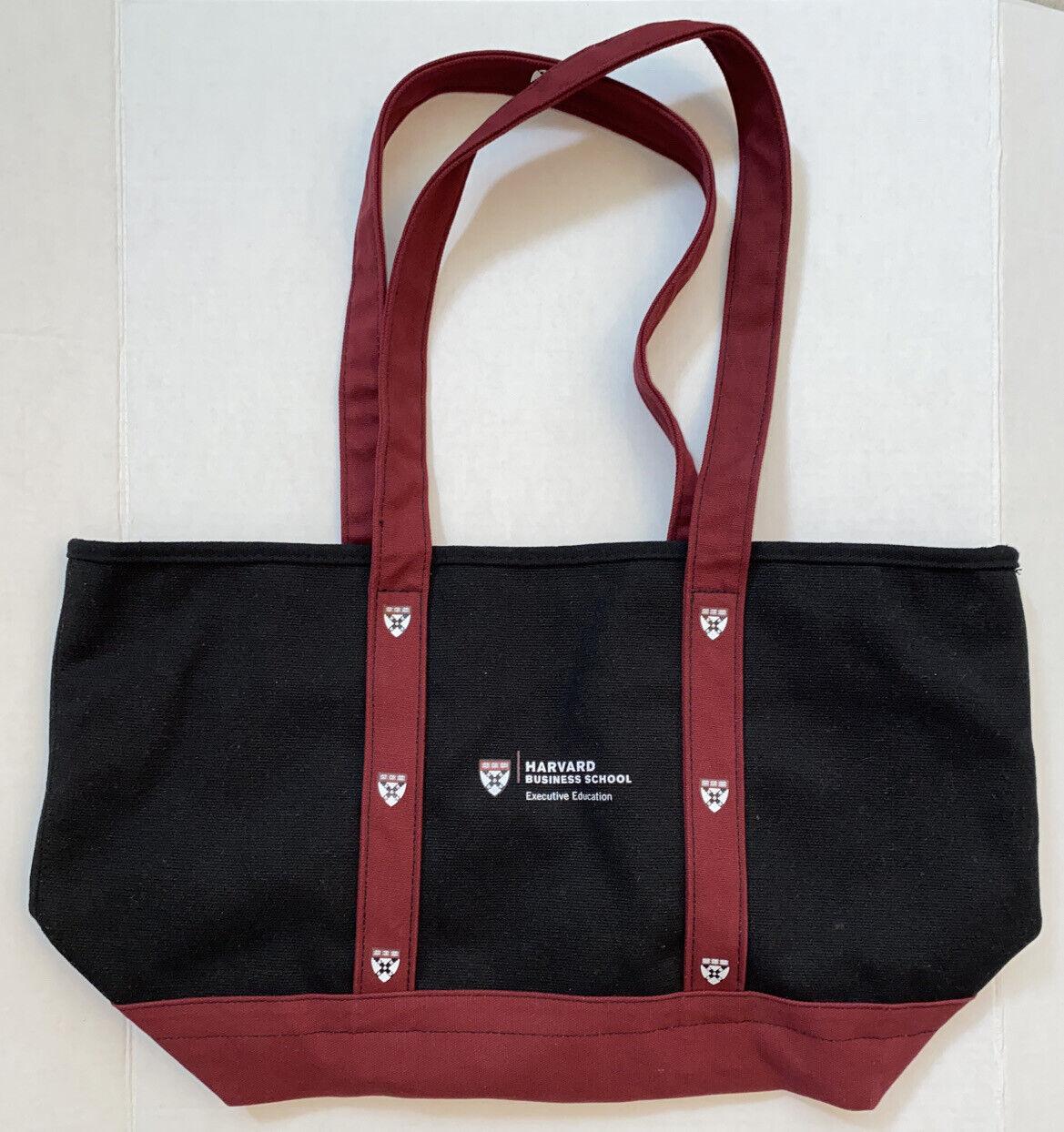 "Harvard Business School Canvas Tote Bag 13"" x 7"" x 21"" 2"