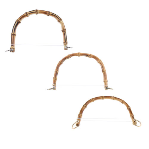 DIY echte Bambus Holz Handtasche Tasche Griff Handtasche Ersatz