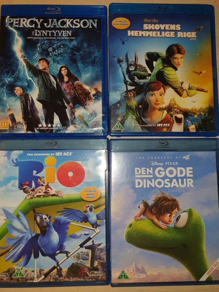 15 Blu-ray film, Blu-ray, familiefilm