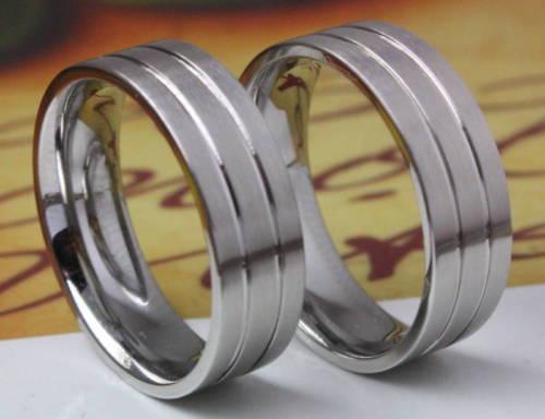 2 Anneaux mariage Bagues de fiançailles /& gravure laser