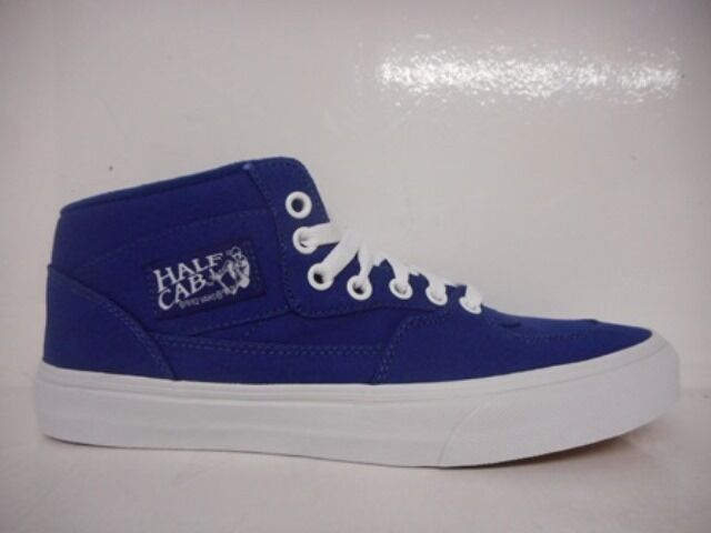 VANS HALF CAB VN000UC8IAM MENS SKATEBOARDING SHOES BLUE VN000UC8IAM CAB SELECT SIZE f9ad85