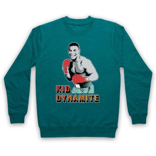 Iron Mike Tyson Boxe Legend Kid Dynamite Officieux Adultes /& Enfants Sweat