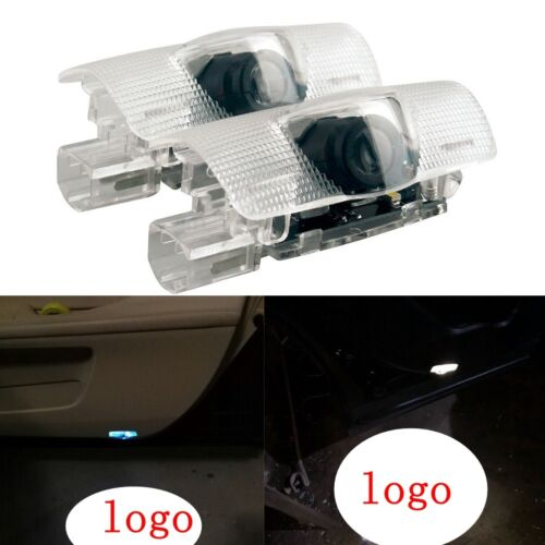 2 LED Light Shadow Projector Logo For Lexus ES IS LS LX Car Door Courtesy Laser