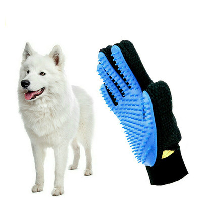 New Cleaning Brush Magic Glove Pet Dog Cat Massage Hair Removal Grooming Groomer