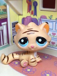 Hasbro Littlest Pet Shop TIGER STRIPE CAT KITTY #1608