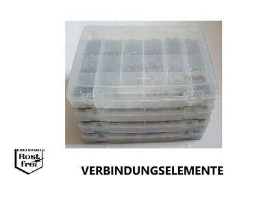 50 Stück DIN 7982 Senkkopf Edelstahl A2 3,9X22