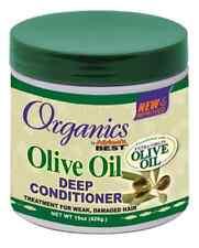 Africa`s Best Organics Olive Oil Deep Conditioner for Weak & Damaged Hair 15oz