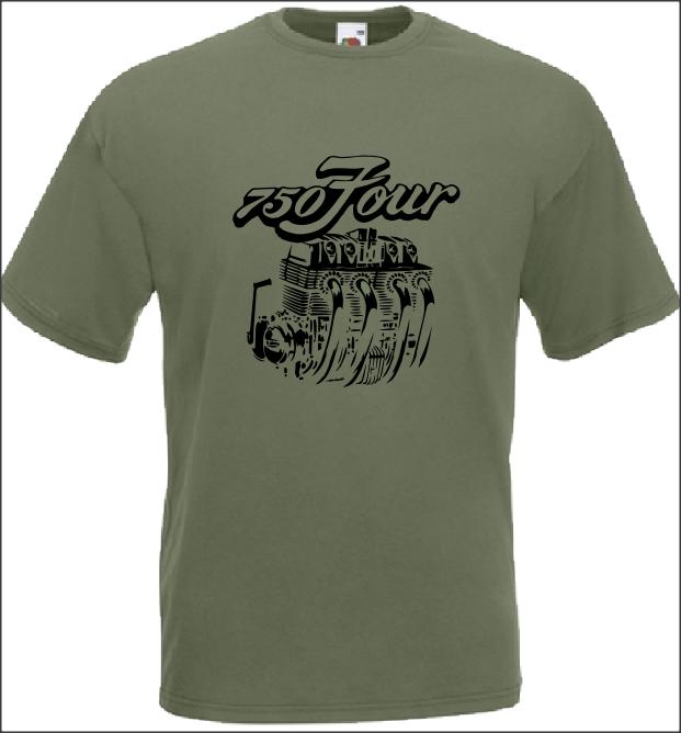 Limited New CB750 Four Vintage C Motorcycle Logo Gildan T Shirt S-2XL