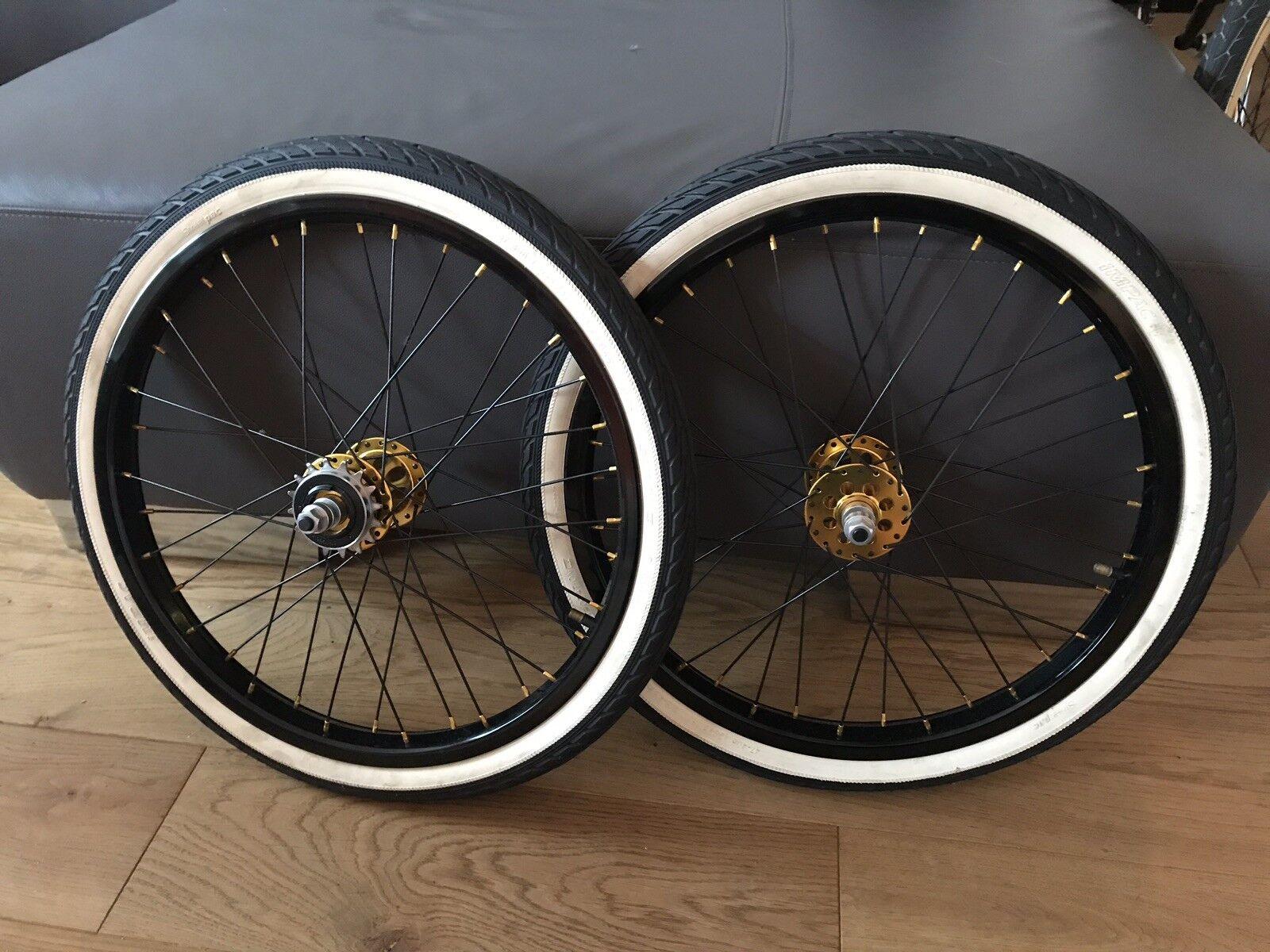 BMX Laufradsatz (Felgen SaltPlus, Naben von TNT, (30th. Anniversary)