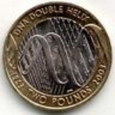 Rare bi-metallic Great Britain £2 coins and Channel Island two pound coins