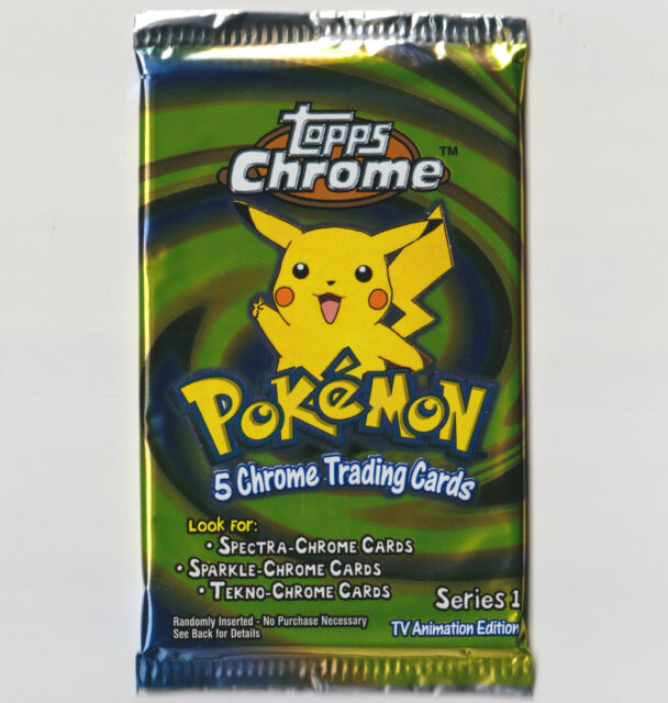 2000 POKEMON TOPPS CHROME SERIES 1 TV ANIMATION CARDS..YOU PICK THE ONE YOU WANT