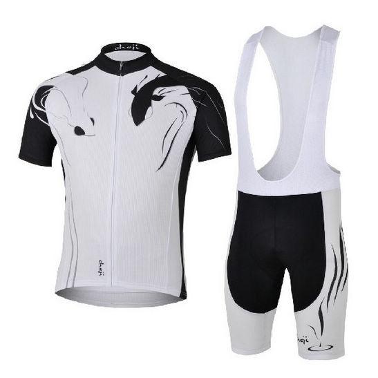 Extremely Cycling Bike Short Sleeve Clothing Set Bicycle Men Jersey Bib Shorts