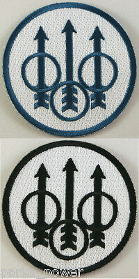 Beretta Firearms embroidered iron on patch, military, law enforcement guns