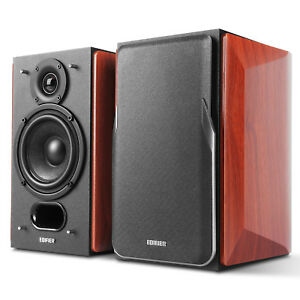 Image Is Loading Edifier P17 Passive Bookshelf Speakers Built In Wall