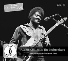 Live at Rockpalast [Digipak] by Albert Collins & The Icebreakers/Albert Collins (Guitar/Vocals)/Icebreakers (CD, Jan-2016, 3 Discs, MIG (Made In Germany))