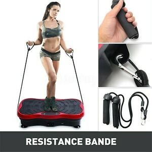 Vibration Platform Plate Whole Body Exercise Fitness Massager Machine Slim Lot